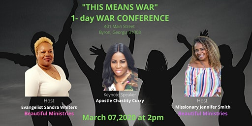 """This means WAR"" Conference"