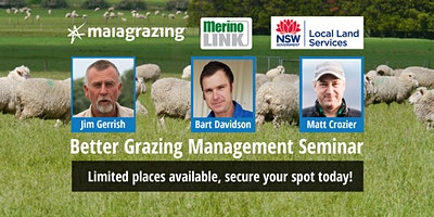 Better Grazing Management Seminar