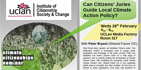 Can Citizens Juries' Guide Local Climate Action Policy? tickets