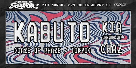 Syrup 2nd Birthday with Kabuto tickets