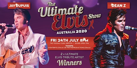 THE ULTIMATE ELVIS SHOW AUSTRALIA 2021 Ft. DEAN Z & JAY DUPUIS  tickets