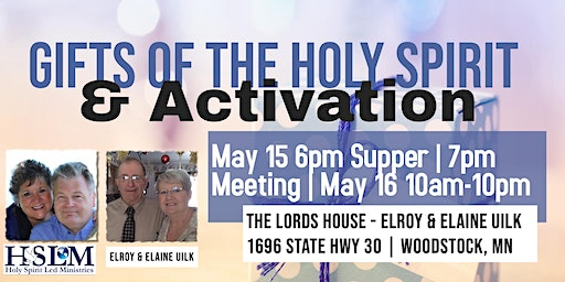 Gifts of the Holy Spirit & Activation