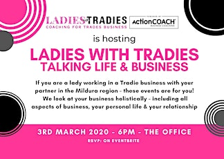 Ladies with Tradies Talk Life & Business tickets