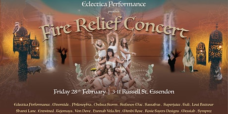 Eclectica Presents: Fire Relief Concert tickets