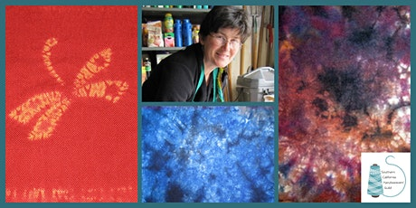 WeFF Workshop: Shibori Dyed Scarves with Kathleen Waln tickets