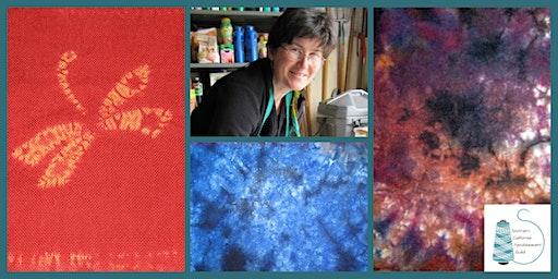 WeFF Workshop: Shibori Dyed Scarves with Kathleen Waln