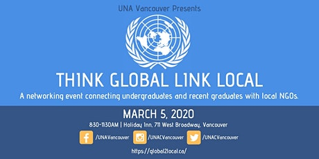 Think Global Link Local 2020 tickets