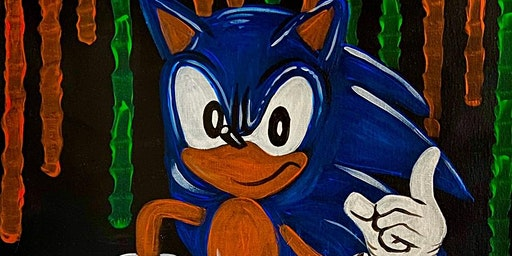 Sonic PAINT N' SIP!