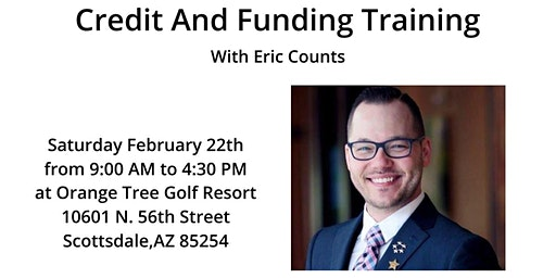 Learn How To Use Your Credit...and Get Funding For Real Estate Investing