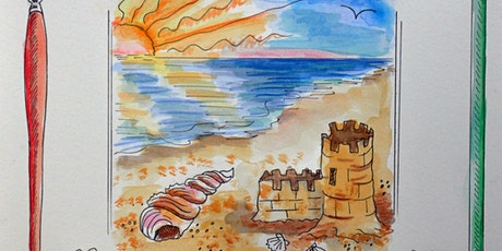 Saturday Morning TEEN Watercolor Beaches tickets