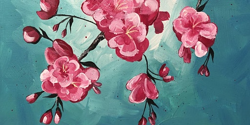 Paint Night at Ironhand Winery: Spring Cherry Blossoms
