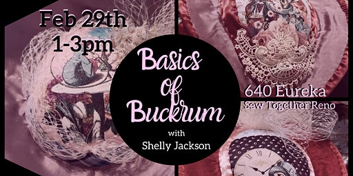 February: Basics of Buckram with Shelly Jackson