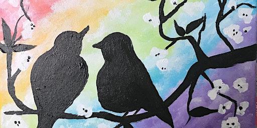 Love Birds PAINT N' SIP!