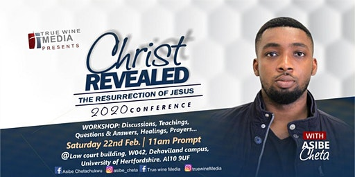 Christ Revealed conference 2020