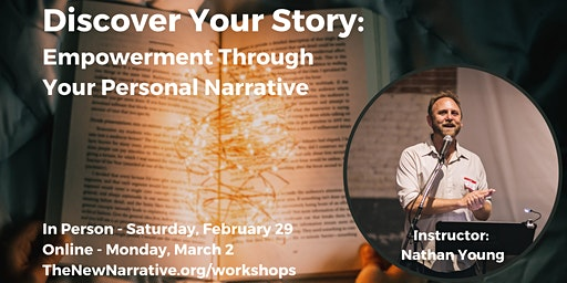 Discover Your Story: Empowerment Through Your Personal Narrative
