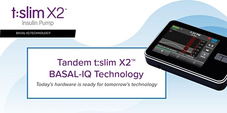 Tandem t:slim X2 - Basal IQ Technology Consumer Presentation Christchurch tickets