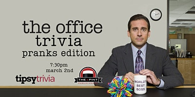 The Office Trivia - March 2, 7:30pm - The Pint Vancouver