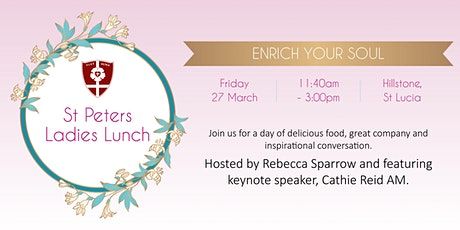 St Peters Ladies Lunch 2020 tickets