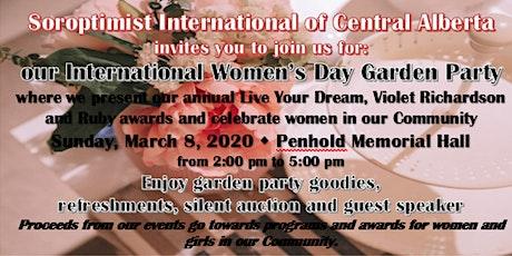 International Women's Day Garden Party tickets