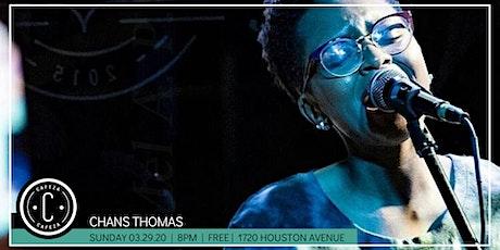 Cafeza Presents - Chans Thomas tickets