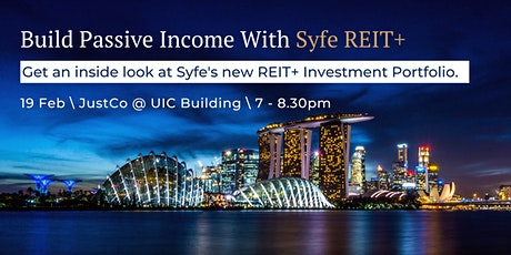 Build Passive Income with Syfe REIT+ tickets