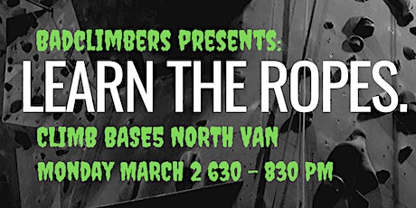 Learn the Ropes tickets