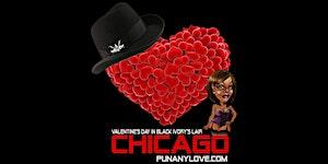 """Chicago - """"Raw"""" Valentine's in Black Light"""