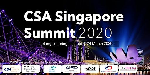 CSA Singapore Summit 2020