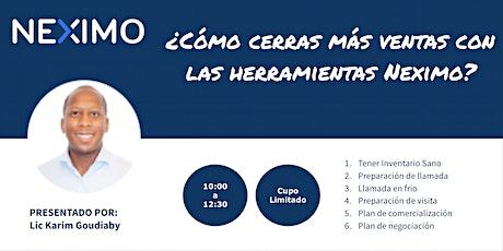 El modelo inmobiliario Neximo para asesores independientes - Monterrey boletos
