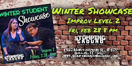 Winter Student Showcase- Improv Level 2 tickets