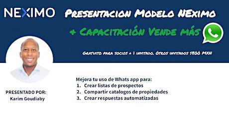 Entrenamiento Inmobiliario CVA - Vender mas con Whats APP boletos