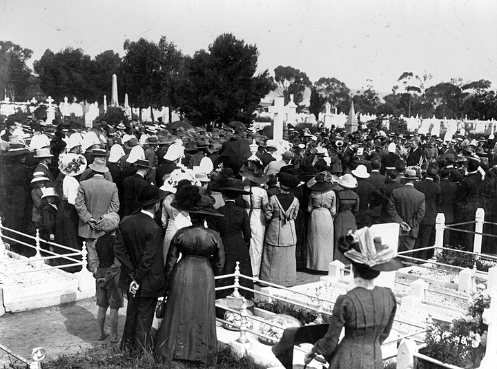 CEO's Talk: The History of West Terrace Cemetery image