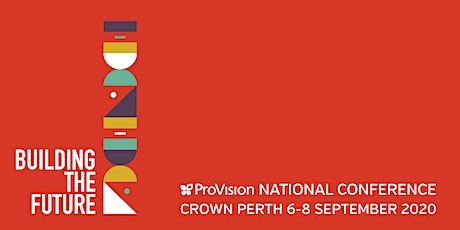 Platinum Sponsor - Building the Future - ProVision National Conference 2020 tickets