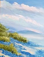 Annabelle's Paint Night- Feb 29 - Lupine HIllside