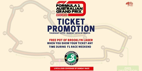F1 Aus Grand Prix Promotion & Live Coverage tickets