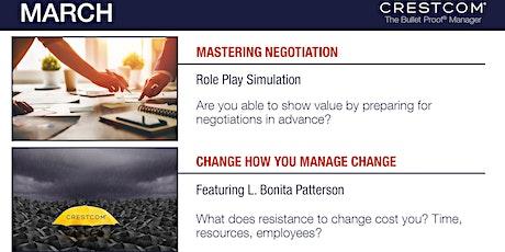 Crestcom's Bulletproof Manager, a Leadership Development Program tickets