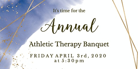 Athletic Therapy Banquet 2020 tickets