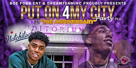 iPutOn4MyCityParty Fredo Bang LIVE in Concert  tickets