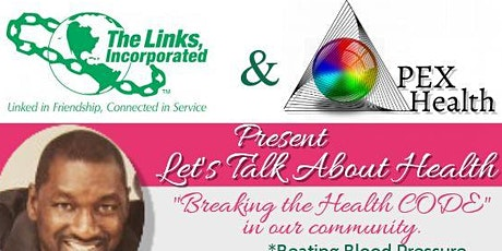 Let's Talk About Health- The Links, Inc. (Gainesville, Fl.) Health and Human Services tickets