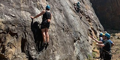 Outdoor Rock Climbing and Abseiling experience