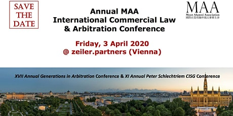 MAA International Commercial Law & Arbitration Conference + 11th Annual Peter Schlechtriem CISG Conference  Tickets