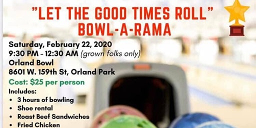 """TTHS CLASS OF 1980 BOWL-A-RAMA """"Let the go times roll"""""""