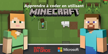 Minecraft – Heure de codage tickets