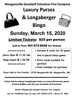 Baskets & Bags Bingo - March 2020