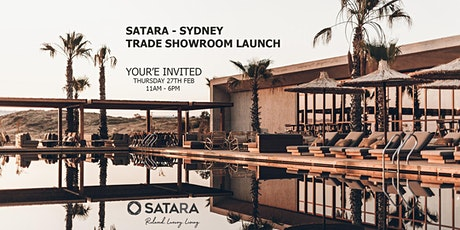 Satara - Sydney Trade Showroom Launch tickets