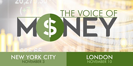 The Voice of Money (UK) tickets