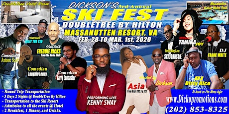 3rd Annual Dicko's SkiFest Weekend - a la carte Package tickets