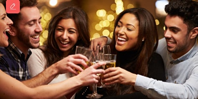 Meet, Mix & Mingle with like-minded ladies & gents! (25-50)(FREE Drink/Fra)