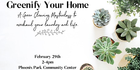 Greenify Your Home with Essential Oils tickets