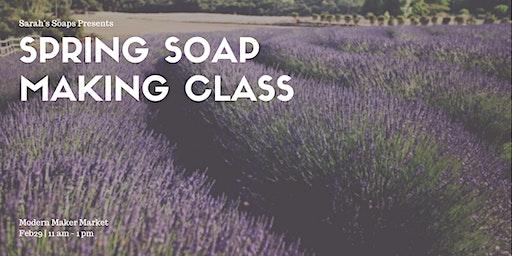 Sarah's Natural  Soap Making Class